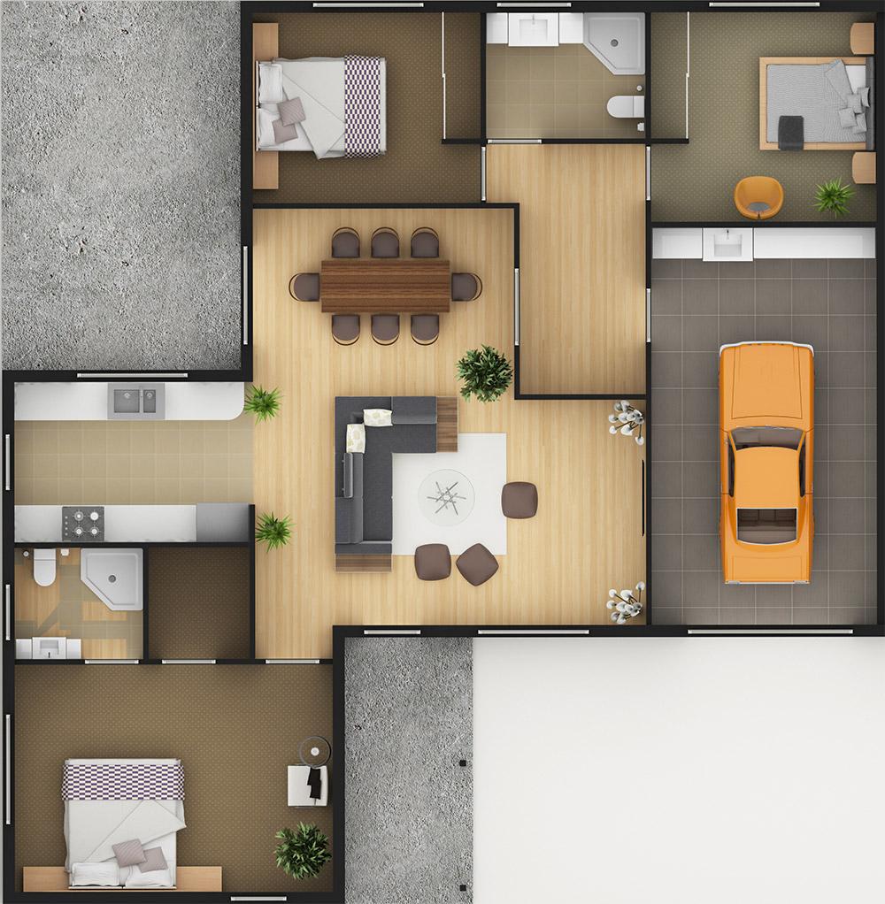 Sample Floor One